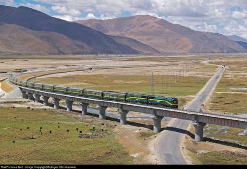 The Qingzang Tibet Railway